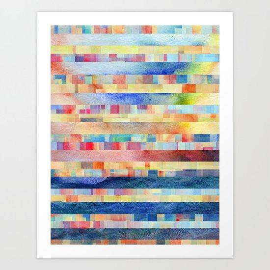 Amalgamate (sp) Art Print