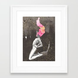 a watery death. #001 Framed Art Print