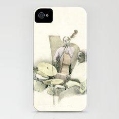 Jazz iPhone (4, 4s) Slim Case