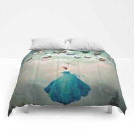Leaving Wonderland Comforters