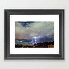Spectral Evenings III Framed Art Print