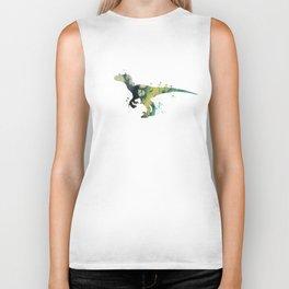 Velociraptor Biker Tank