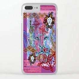 Lori the Leo Clear iPhone Case