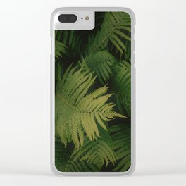 Nature Leaves Clear iPhone Case