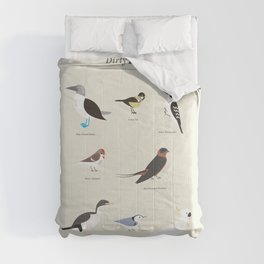 Dirty Birds Comforters