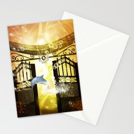 Cute dolphin Stationery Cards