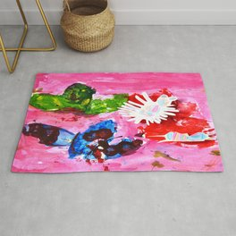 BUTTERFLiES TRANSFORMATiON | Craft Kid Rug