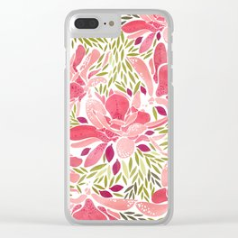 You make me blush Clear iPhone Case