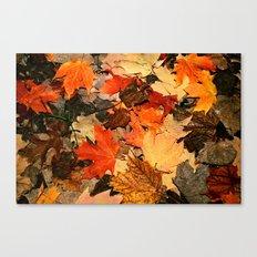 mixing colours Canvas Print