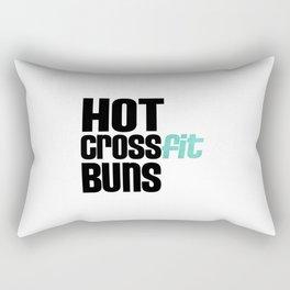Hot Crossfit Buns Rectangular Pillow