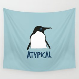 Atypical penguin Wall Tapestry