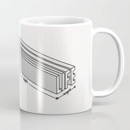 Life is short but deep Coffee Mug