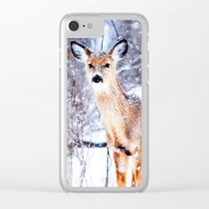 Missing Female Clear iPhone Case