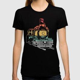 Train Trains Model Railroad Railway Gift T-shirt