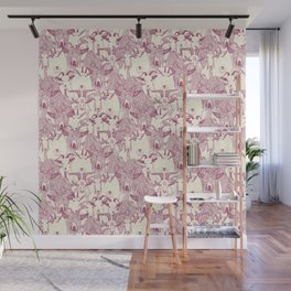 just goats cherry pearl Wall Mural