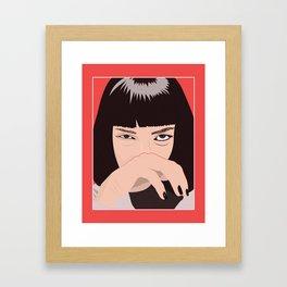 $5 Milkshake Framed Art Print