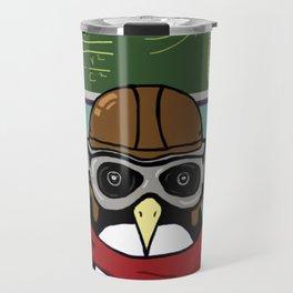 Little Penguin, Big Plans Travel Mug