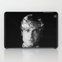 brad pitt iPad Cases featuring BRAD by THE USUAL DESIGNERS