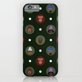 Winter Holiday Ready iPhone Case