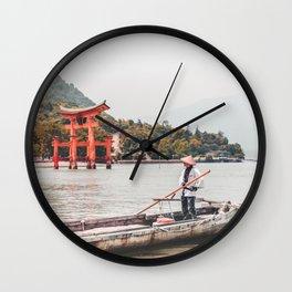Tori Gate Wall Clock