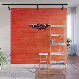 Hardware: Burnt Orange Wall Mural