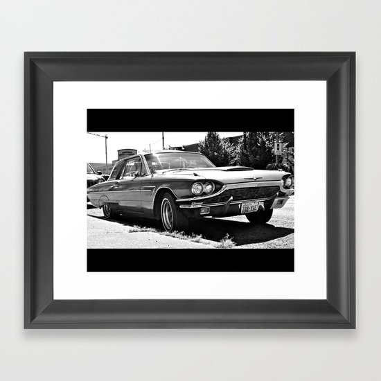 '65 Ford T-bird Framed Art Print