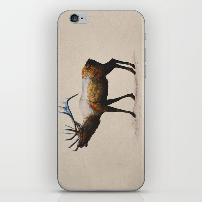 The Rocky Mountain Elk iPhone Skin