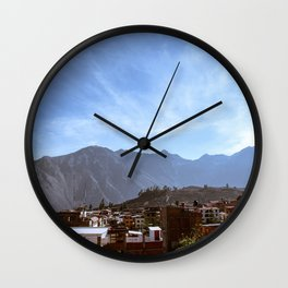 Canyon Village Wall Clock