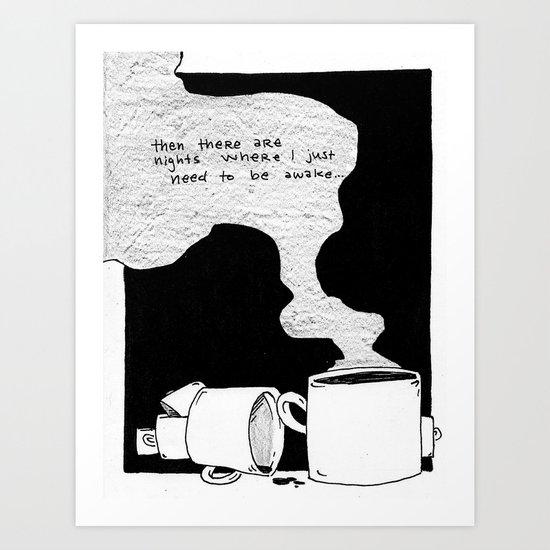"""The Silence."" pg. three Art Print"