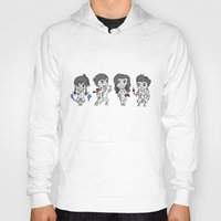 the legend of korra Hoodies featuring Legend of Korra Chibi by Ninja Klee