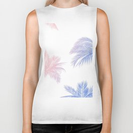 Palm Leaves Hawaii Biker Tank