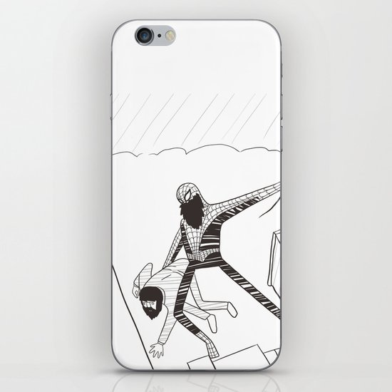 Spider-Beard iPhone & iPod Skin