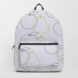 apple and pear Backpack
