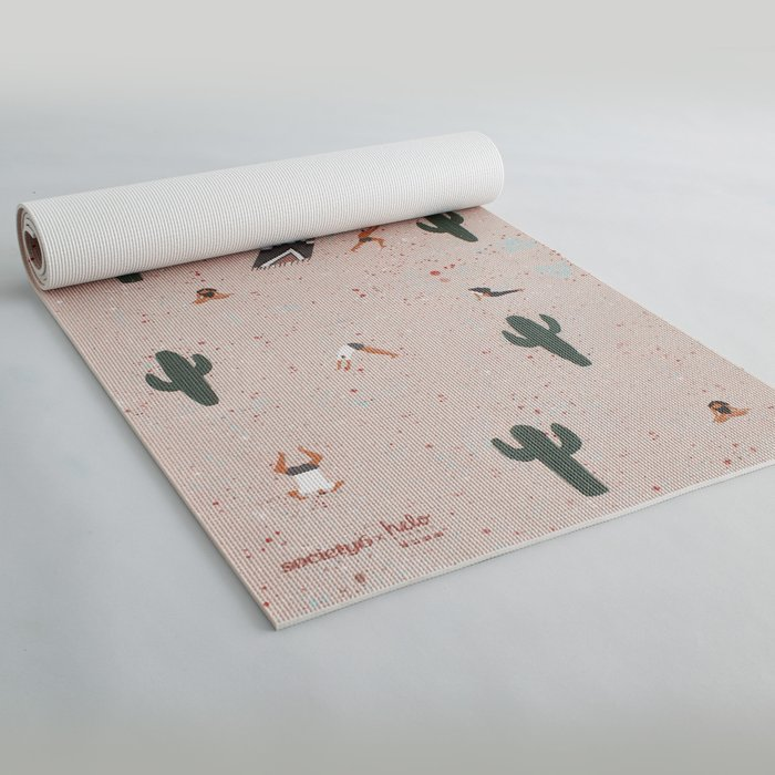 Bikram by Helo Birdie Yoga Mat
