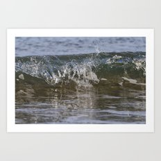Small wave Art Print
