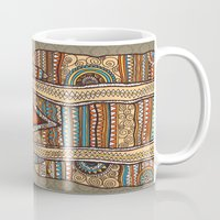 persian Mugs featuring Persian by MR VELA