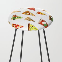 Pizza Pattern Counter Stool