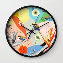 Jewel of The Forest - Contemporary Wall Clock