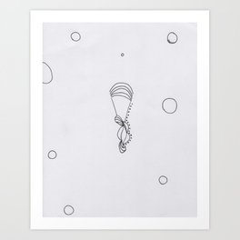 Free Style. Art Print