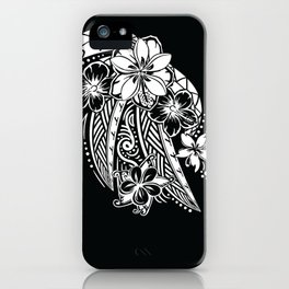Maui Polynesian Tribal Threads iPhone Case