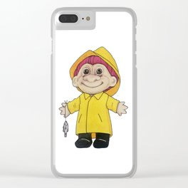 Fisketroll Clear iPhone Case