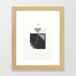 """ Flacon Noir "" Framed Art Print"