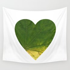 I LOVE PLANTS. Wall Tapestry