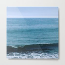 Beach Gloom Metal Print