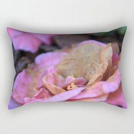 Details of a pink camelia Rectangular Pillow