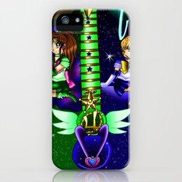 Fusion Sailor Moon Guitar #34 - Sailor Juptier & Sailor Uranus iPhone Case