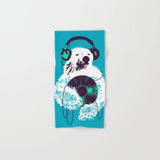 Record Bear Hand & Bath Towel