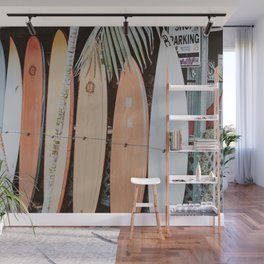 lets surf ii Wall Mural