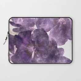 Purple Blossoming Laptop Sleeve