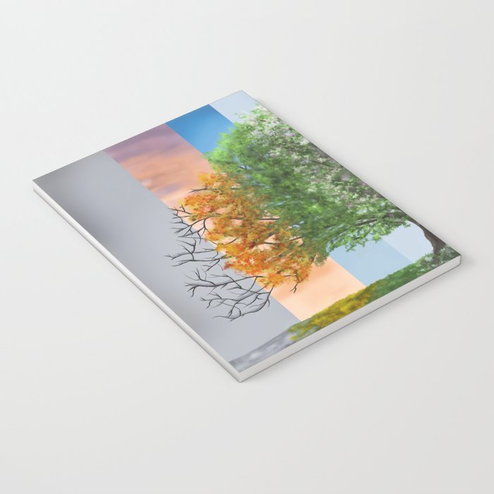 The seasons of the year in a tree Notebook